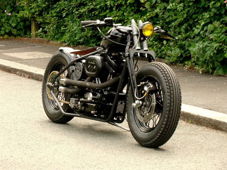 how to build a harley bobber