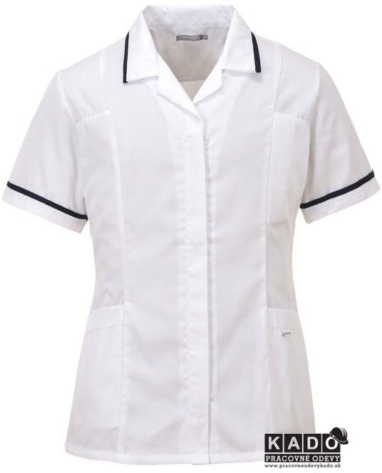 Pracovné odevy - Dámska blúza PRINCES LW20 biela