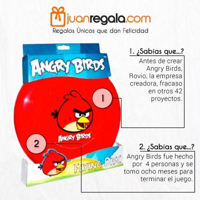 Los Angry Birds siguen entreteniéndonos hasta mas no poder.