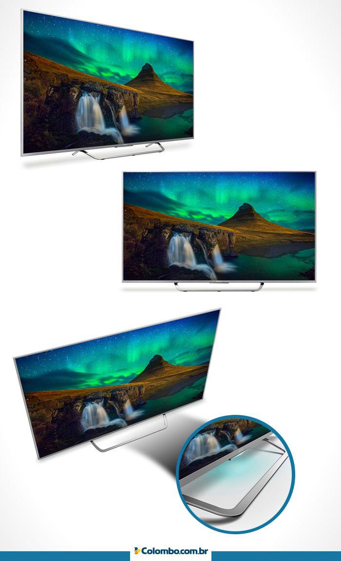 Notebook samsung lojas colombo - A Tecnologia Dos Televisores Sony 4k Chegou Na Lojas Colombo Com Alta Qualidade De Imagem