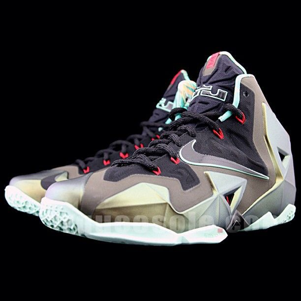 Nike LeBron 11 Armory Slate New Detailed Pictures