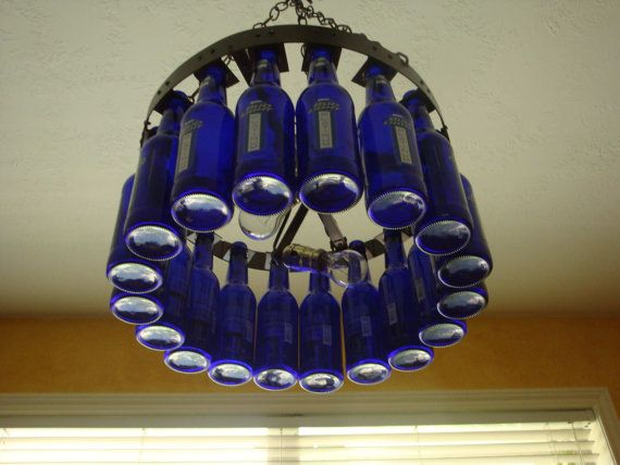 25 Unique Beer Bottle Chandelier Ideas On Pinterest Drinking Lightan Cave Xmas