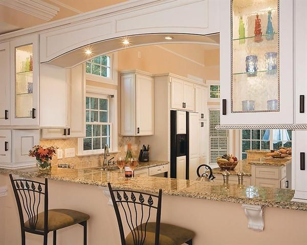 breakfast bar between kitchen and living room ideas for openings between rooms opening up a wall 27243