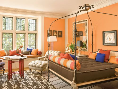 best 104 orange>pumpkin>peach wall color images on pinterest