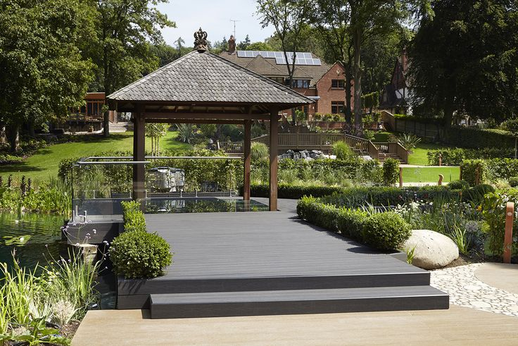Havwoods HO502 Trekker Anthracite Wood Grain Decking