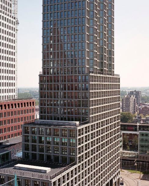 Woontoren de Kroon in Den Haag - alle projecten - projecten - de Architect (Foto door Kim Zwarts)