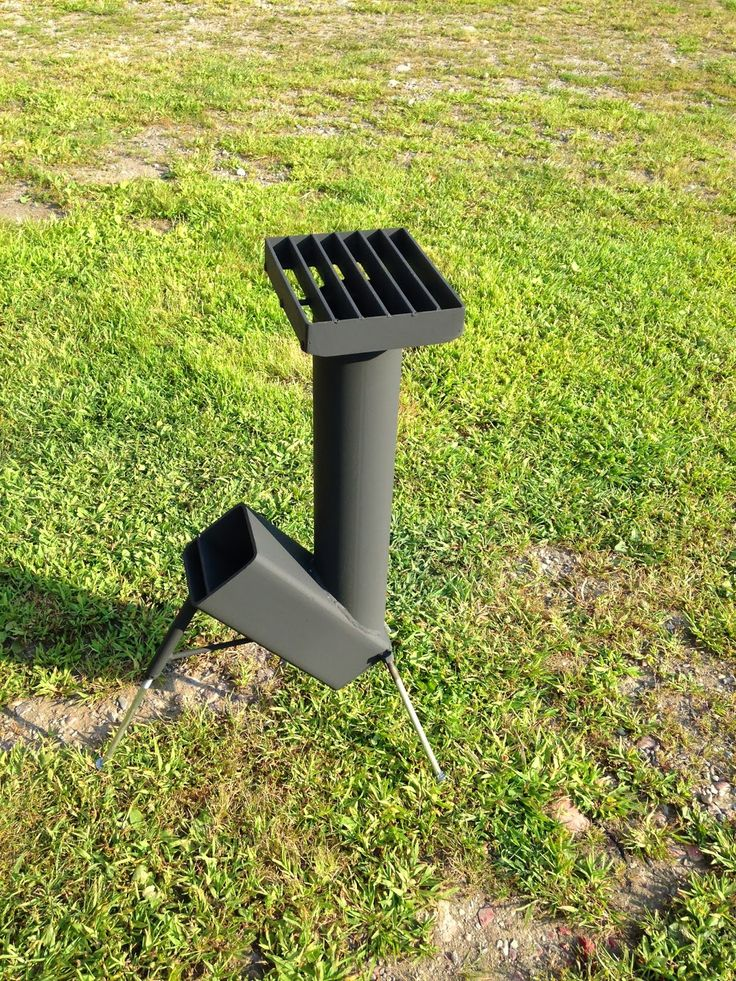 Ed's Metal Creations: Homemade Rocket Stove