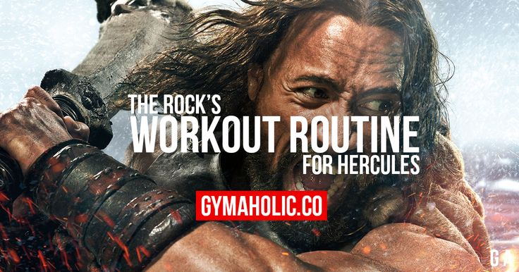 Dwayne The Rock Johnson's Workout And Diet For Hercules