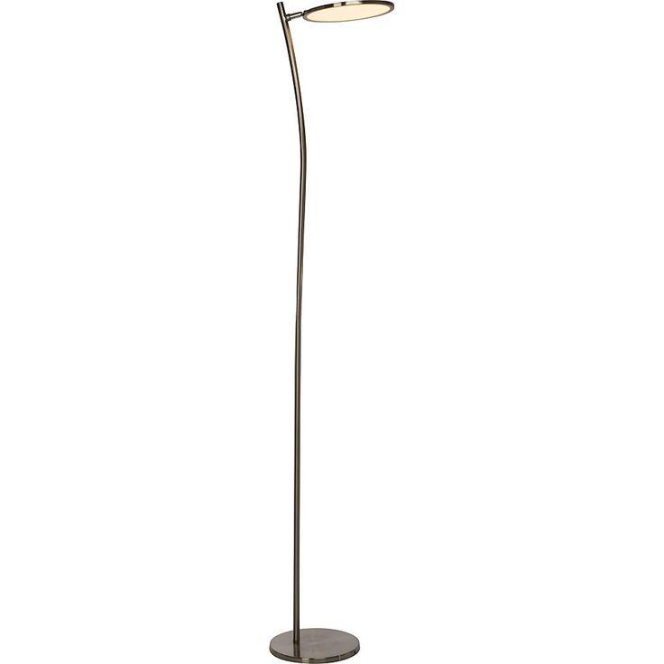 New Brilliant Leuchten Pluto LED Deckenfluter eisen wei Jetzt bestellen unter https moebel ladendirekt de lampen stehlampen deckenfluter uid udc c