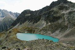 Naturerlebnis, Bergseen, Ruhe und Erholung beim Wandern im Pitztal in Tirol #DachTirols
