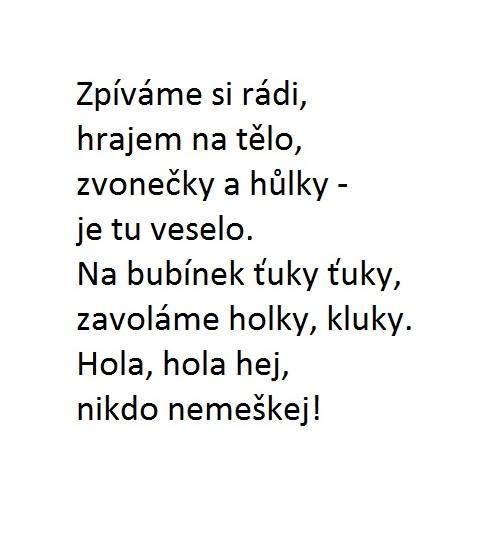 Melodie - Tluče bubeníček