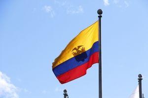South America visa Ecuador flag