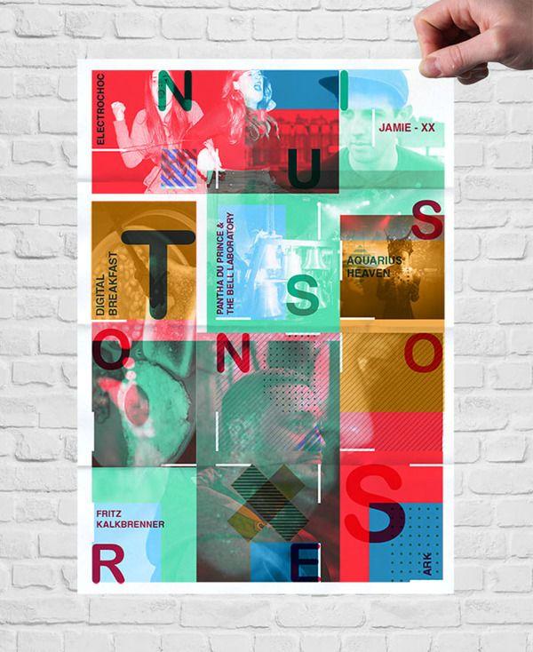NUITS SONORES 2013 - STRASBOURG by Mira Benjamin, via Behance