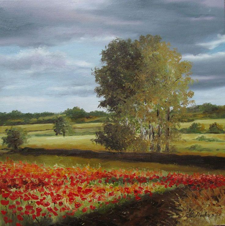 Poppy field. W. Podlecka