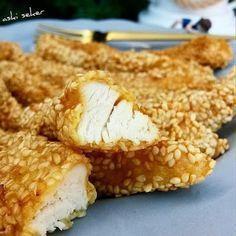 SUSAMLI TAVUK Susame chicken yemek tatlı pasta hamurişi tarifleri denenmiş kolay lezzetli tarifler dessert baking cooking food patsry