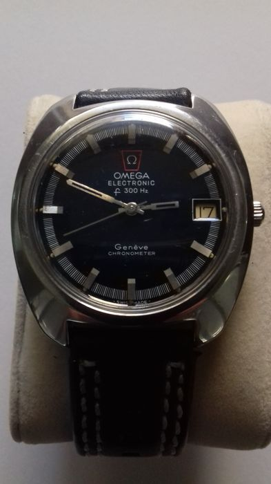 115c7823207 Currently at the  Catawiki auctions  Omega - Electronic F300Hz - Geneve  Chronometer - Serviced - 198.030 - Men -.