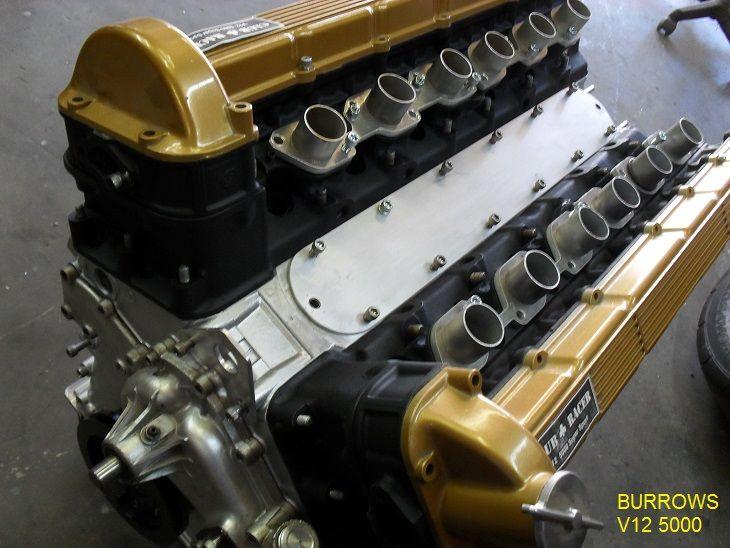 Burrows V12 Racing Engine With 39 Maverick Octane 39 Special