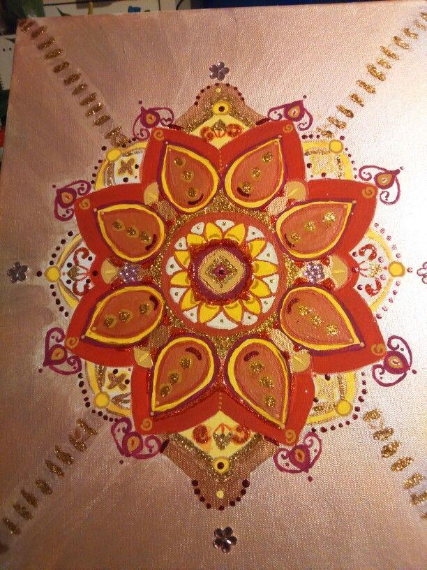 Light Pink Mandala