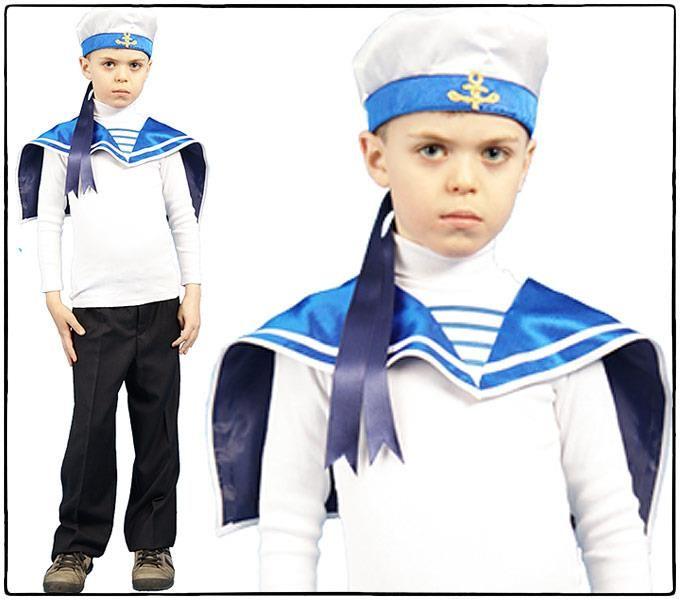 Купить детский карнавальный костюм моряка