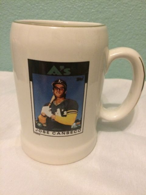 The Heirloom Tradition oakland A's Jose Canseco Mug | eBay