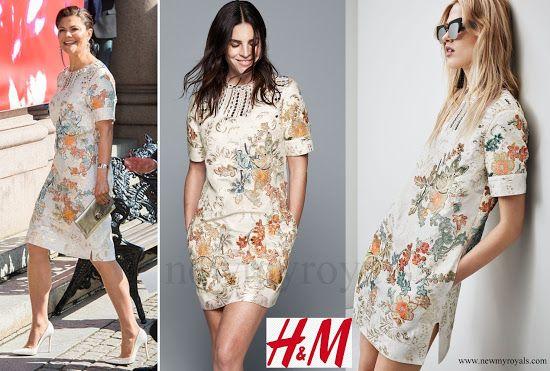 Crown Princess Victoria wore H&M Dress - Conscious ...