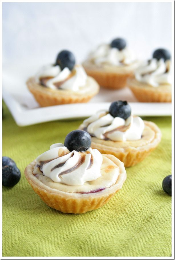 Grilled Blueberry Cheesecake Pies