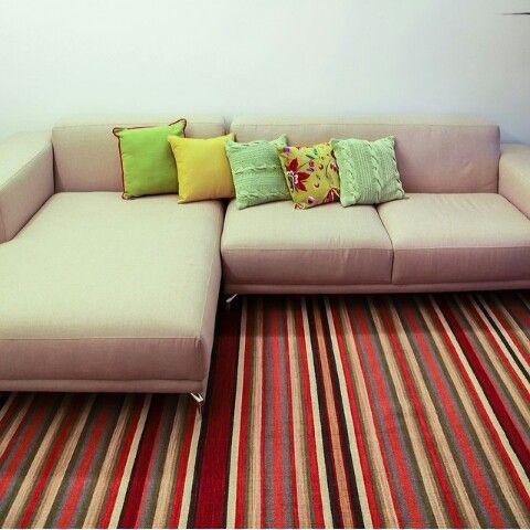 Quero esse sofá!!! Menor, claro...