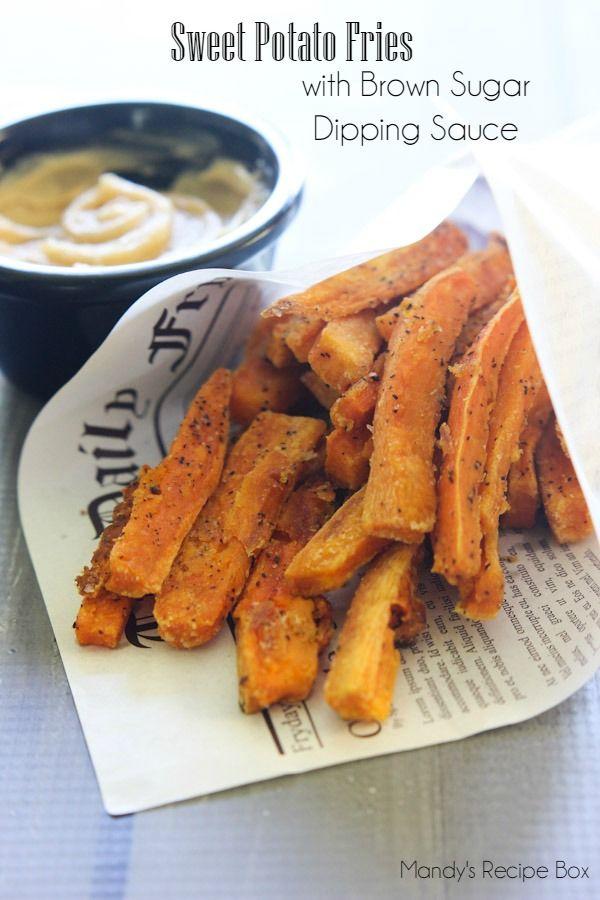Sweet Potato Fries #SweetSwaps #SplendaSweeties #ad