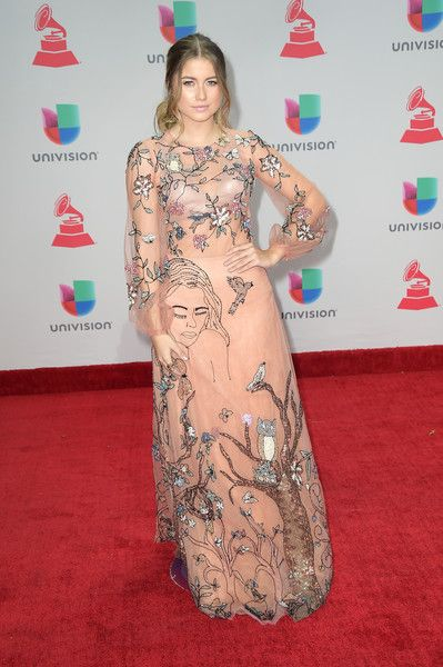 Sofia Reyes attends the 18th Annual Latin Grammy Awards at MGM Grand Garden Arena on November 16, 2017 in Las Vegas, Nevada.