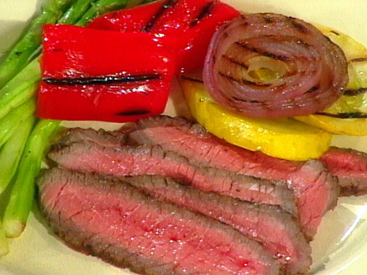 Grilled Marinated London Broil recipe from Sara's Secrets via Food Network