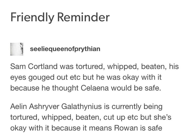 WTF IS IT WITH THIS FANDOM AND FRIENDLY REMINDERS!!  THIS IS NOT OKAY