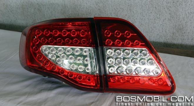 Stoplamp Altis Ciamik Dan Rear Foglamp Harrier LED Dari DS #BosMobil