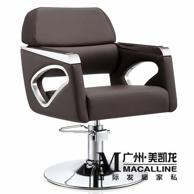 Europeo silla de peluquería de madera maciza. italiano de lujo silla. el nuevo peluquería silla