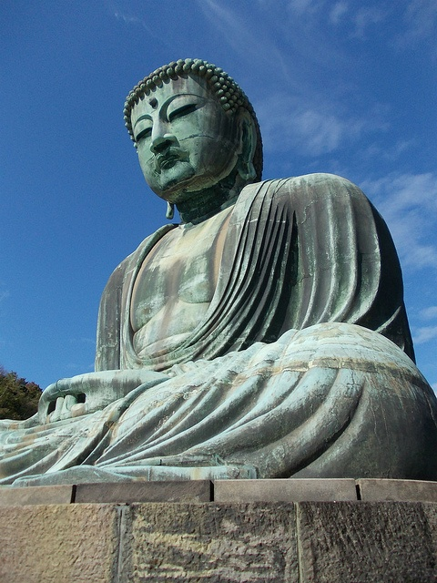 [Hase, Kanagawa]Kotoku-in.  The Great Buddha.
