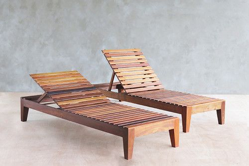 Build your own outdoor chaise lounge chaise lounges for Build chaise lounge