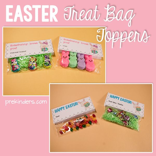 108 best prek eggs easter images on pinterest easter easter easter treat bag toppers negle
