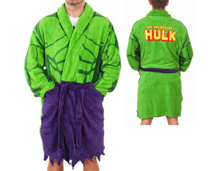 Incredible Hulk Dressing Gown