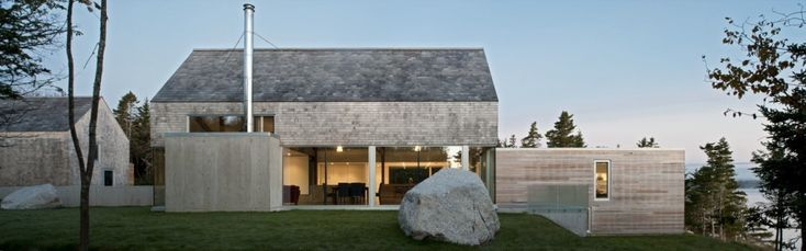 Love how MacKay-Lyons Sweetapple Architects blend Sea Ranch style and modern.