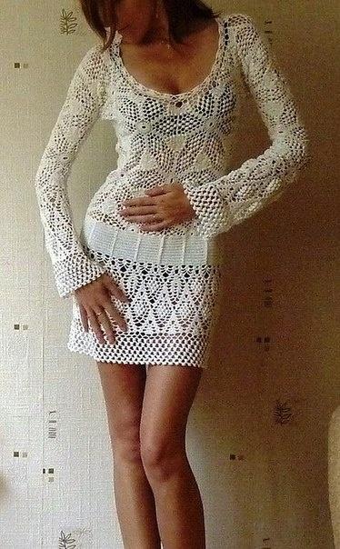 White Dress...  Vestido blanco...