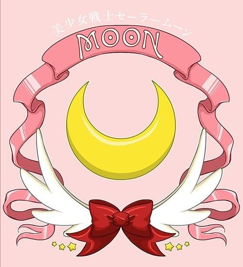 Sailor Moon Logo   Sailor moon crystal, Sailor moon ...