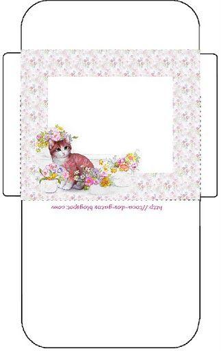 69 Best Images About Printable Tea Bag Envelopes On