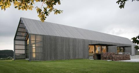 Modern barn so chic