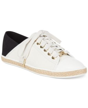 Michael Michael Kors Kristy Slide Lace-Up Sneakers - White 6M