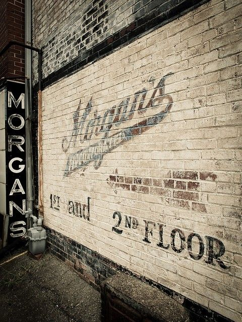 Ghost Signs | Vintage Look | Trend | Warehouse Conversion | Morgan's | White | Brick | Loft Living | Warehouse Home Design Magazine