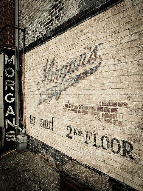 Ghost Signs | Vintage Look | Trend | Warehouse Conversion | Morgan's | White | Brick | Loft Living | Warehouse Home Design Magazine