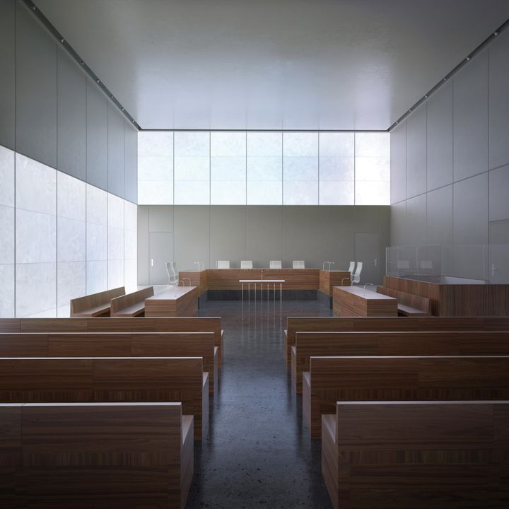 Courthouse Saint-Malo by LAN Architecture - Photo: plusmood.com
