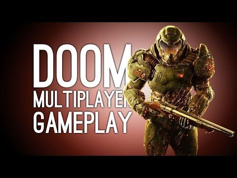 Doom Gameplay - Let's Play Doom Multiplayer Team Deathmatch (Doom 4) - YouTube