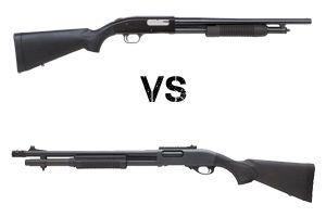 Mossberg 500 vs. Remington 870