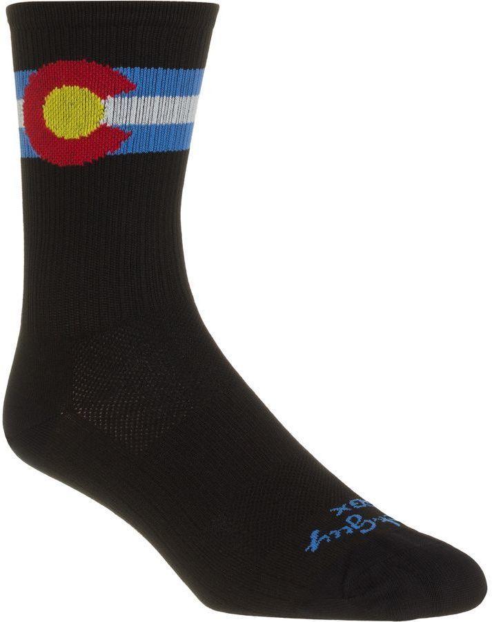 SockGuy SGX6 Colorado Sock 135 best Colorado