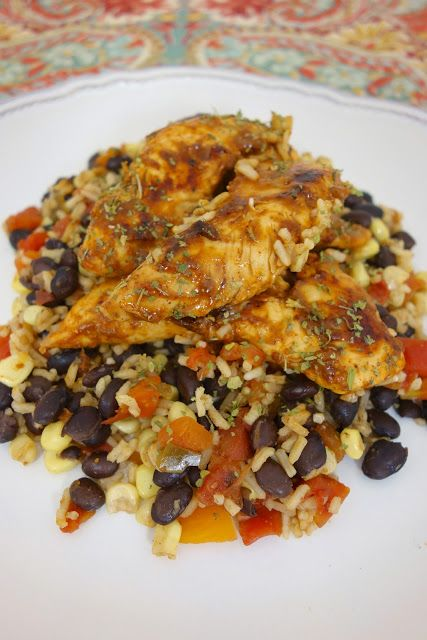 Santa Fe Chicken & Rice | One Pot Dishes, Santa Fe Chicken and Quick ...